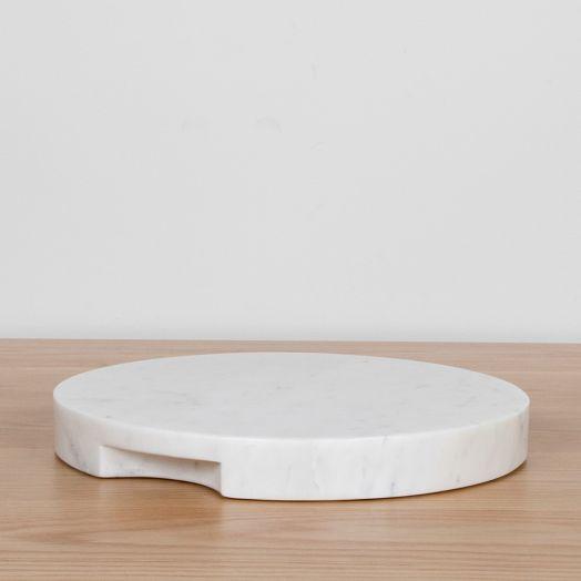 White Marble Round Board