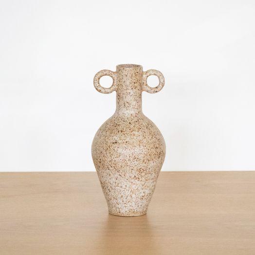 Geometric Vase I, Natural