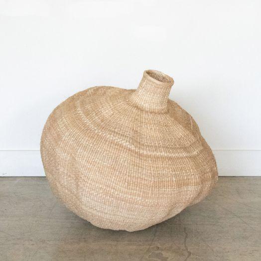 African Gourd Basket, Large
