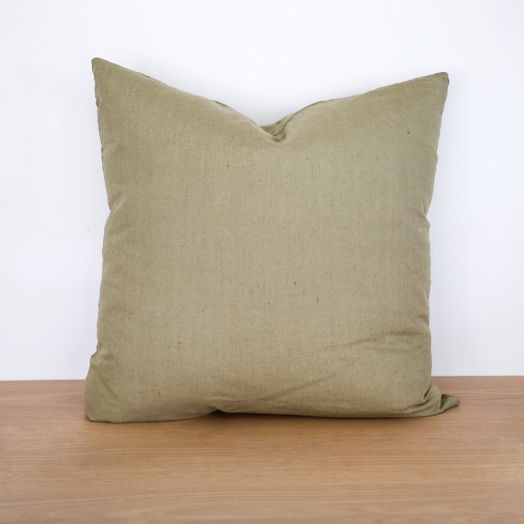 "Linen Pillow 24"", Sage Green"