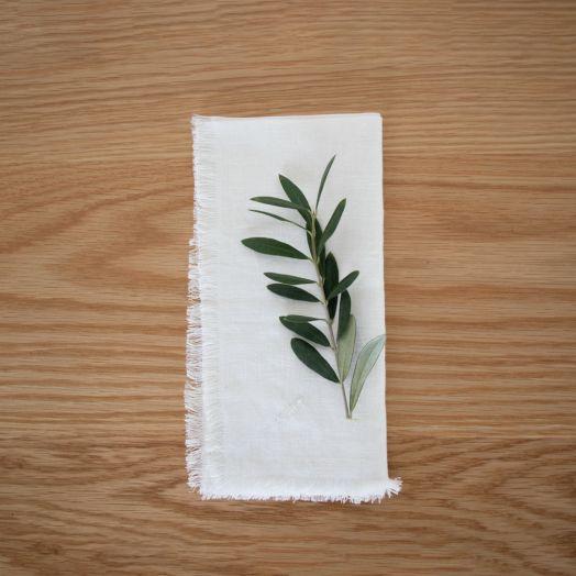 Linen Napkins, White