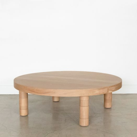 Panoplie White Oak Coffee Table