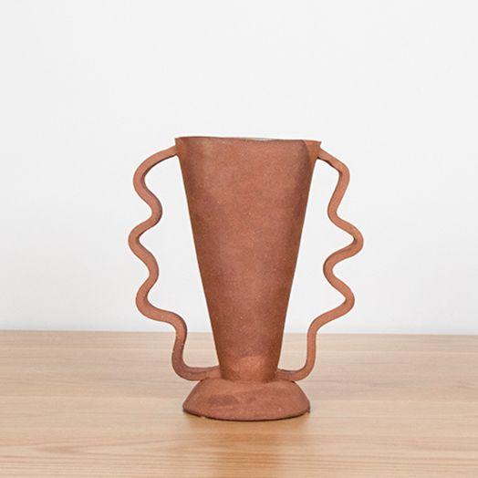 Stretch Vase, Terracotta