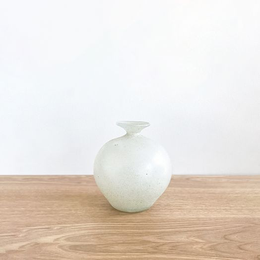 Italian Scavo Style Bud Vase