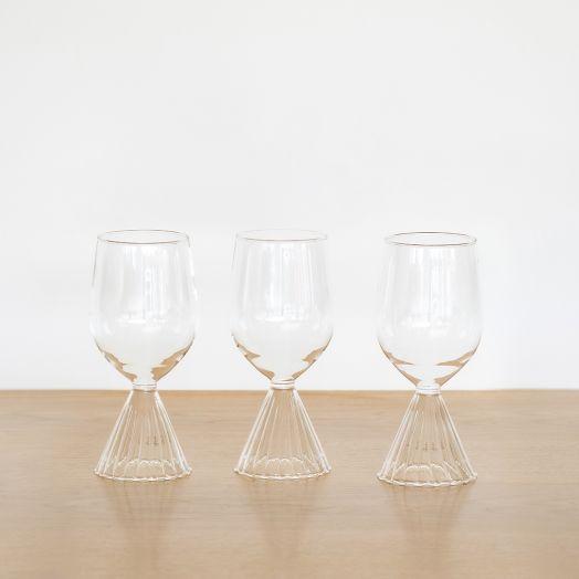 Tutu White Wine Glass by Ichendorf Milano