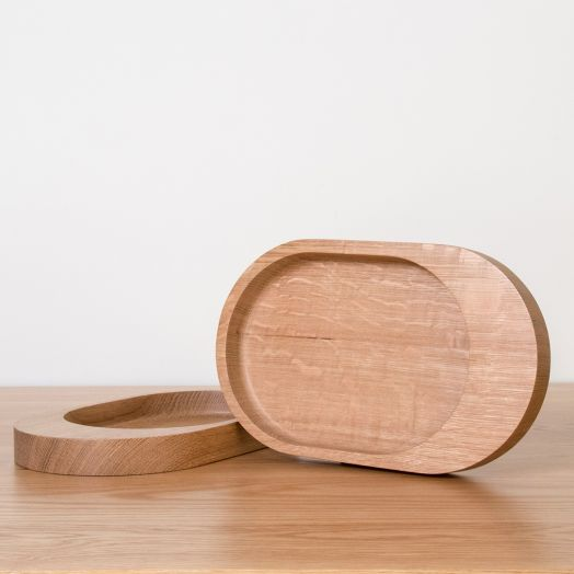 White Oak Catchall Tray