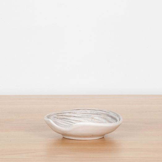 Shell Ceramic Dish by Dominique Guillot