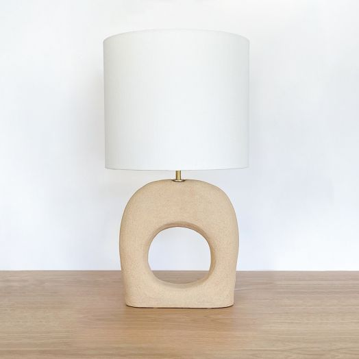 Sculptural O Lamp