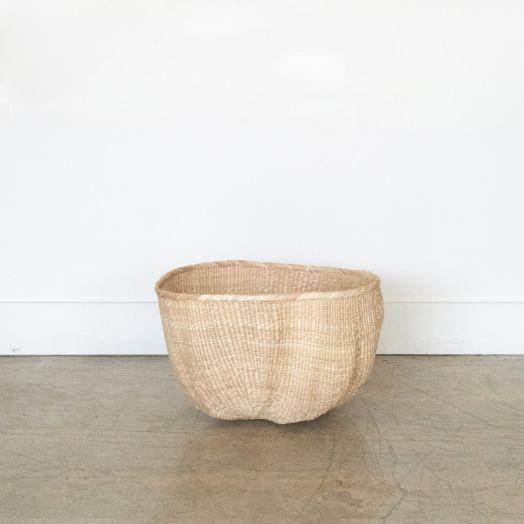 African Wonky Basket, Medium