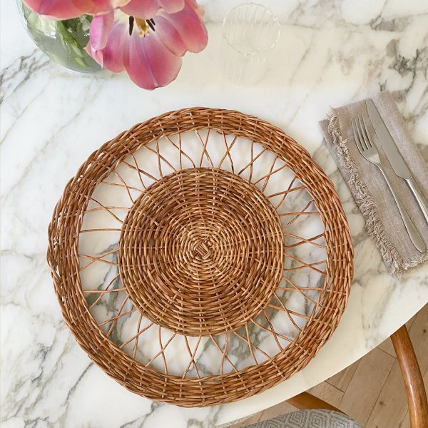 Woven Wicker Placemat